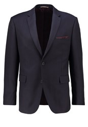 Burton Menswear London Suit Jacket Navy Dark Blue