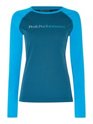 Peak Performance Gallos Long Sleeve Tee Pink