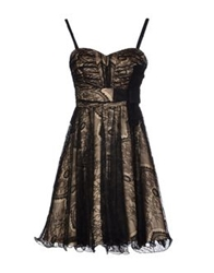 Aftershock Short Dresses Black