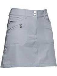 Daily Sports Miracle Skort Silver Metallic