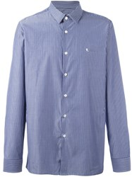Raf Simons Striped Shirt Blue