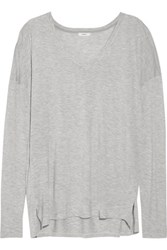 Vince Stretch Jersey Top Stone