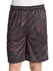 Reebok Printed Rope Climb Shorts Black