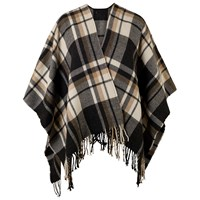 Chesca Oversized Wrap Camel Charcoal