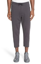 Y 3 Men's French Terry Sweatpants Carbon Grey