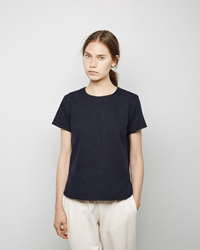 Steven Alan Ace Top Navy Stripe
