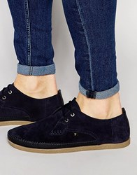 Farah Drape Lo Shoes Navy