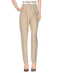 Who S Who Trousers Casual Trousers Women Beige