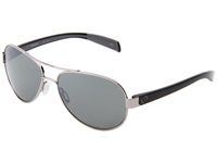 Native Haskill Chrome Iron Gray Silver Reflex Lens Athletic Performance Sport Sunglasses