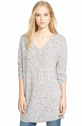 Women's Bobeau V Neck Tunic Sweater