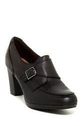 Clarks Brynn Poppy High Heel Loafer Wide Width Available Black