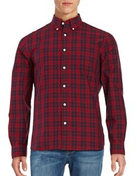 Brooks Brothers Button Front Sportshirt Red