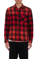 Nsf Men's Axel Checked Shirt Red