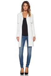1. State Utility Trench Coat White