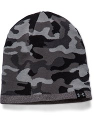 Under Armour Reversible Acrylic Mix Beanie Hat Grey