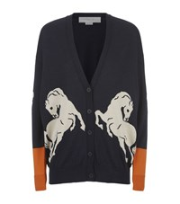 Stella Mccartney Horse Intarsia Cardigan Female
