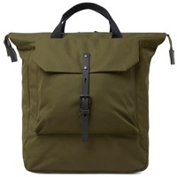 Ally Capellino Frances Ripstop Rucksack Green