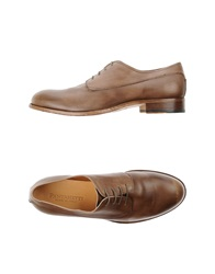 Pantanetti Lace Up Shoes Cocoa