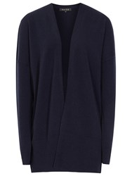 Reiss Cashmere Renna Cardigan Night Navy