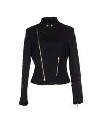 Dirk Bikkembergs Coats And Jackets Jackets Women Black