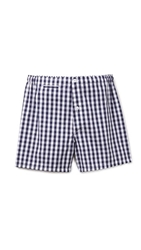 Sleepy Jones Gingham Jasper Boxers