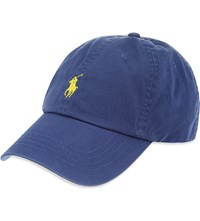 Ralph Lauren Classic Cotton Sports Cap Derby Blue