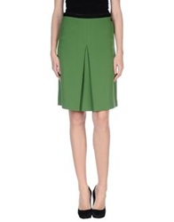 Scee By Twin Set Knee Length Skirts Green