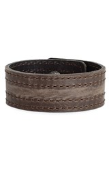 Women's Frye 'Melissa' Leather Snap Cuff Slate