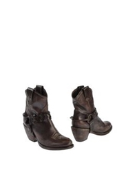Materia Prima By Goffredo Fantini Ankle Boots Dark Brown