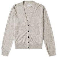 Maison Martin Margiela 14 Elbow Patch Cardigan Grey