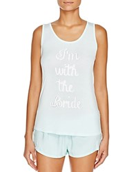 Pj Salvage With The Bride Tank Mint