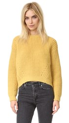 Acne Studios Hira Chunky Sweater Mimosa Yellow