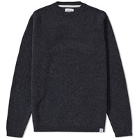 Norse Projects Sigfred Solid Lambswool Knit Grey