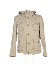 Geospirit Coats And Jackets Jackets Men Beige