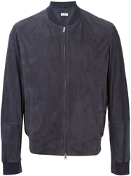 Brunello Cucinelli Perforated Jacket Blue