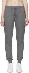 Mcq By Alexander Mcqueen Grey French Terry Lounge Pants