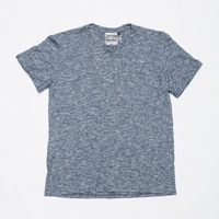 Ungmaven Pocket T Shirt Navy Marl Www.Atoo.Co.Uk