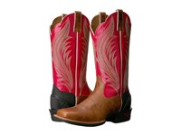 Ariat Catalyst Prime Gingersnap Calypso Coral Cowboy Boots Brown