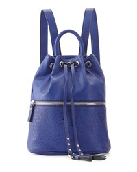 French Connection Mara Drawstring Backpack Monarch Blue