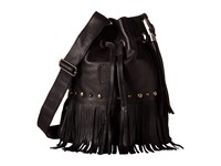 Sts Ranchwear The Free Spirit Bucket Bag Black Handbags