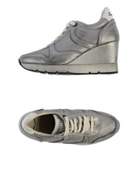 Voile Blanche Low Tops And Trainers Grey