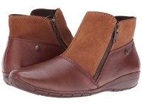 Hush Puppies Khoy Dandy Tan Suede Leather Women's Shoes Brown