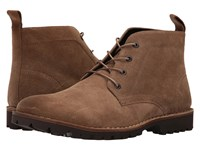 Kenneth Cole Lug Xury Camel Men's Lace Up Boots Tan