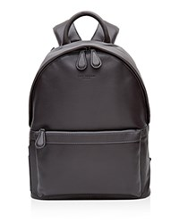 Ted Baker Dollar Leather Backpack Charcoal