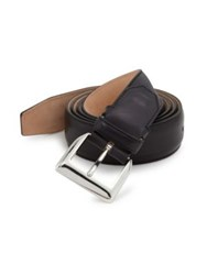 Sutor Mantellassi Adjustable Leather Belt Henna