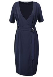 Glamorous Summer Dress Navy Dark Blue