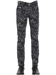 Cnc Costume National Costume N Costume 16Cm Pollock Printed Stretch Denim Pants