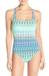 Bleu Rod Beattie Women's Bleu By Rod Beattie 'Heatwave' Racerback One Piece Swimsuit