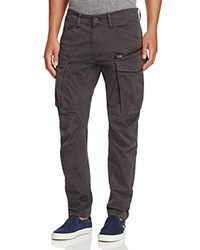 G Star Raw Rovic New Tapered Fit Cargo Pants Raven