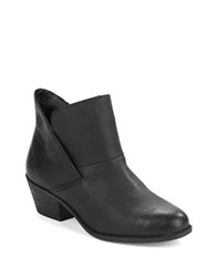 Me Too Zale Leather Ankle Boots Black